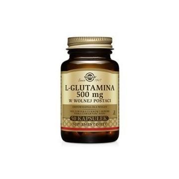 L-Glutamina 500mg - 50vcaps. PL