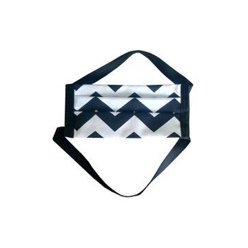 Maseczka ochronna wielokrotnego użytku dla dzieci - MINI Zygzak - 1szt