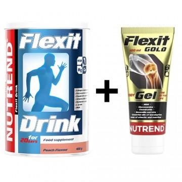 Flexit Drink - 400g - Peach...
