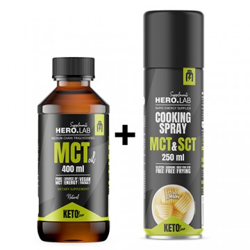 MCT Oil - 400mlX1 + Cooking...