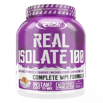 Real Isolate - 1800g - Caramel