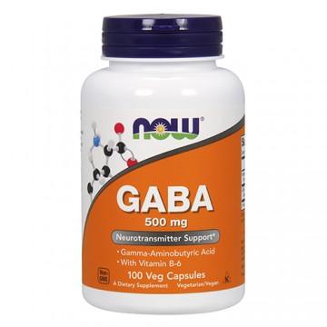 GABA 500mg - 100veg caps