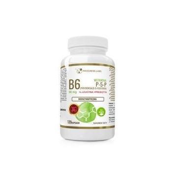 Vitamin B6 (P-5-P) 50mg + Inulina - 120caps