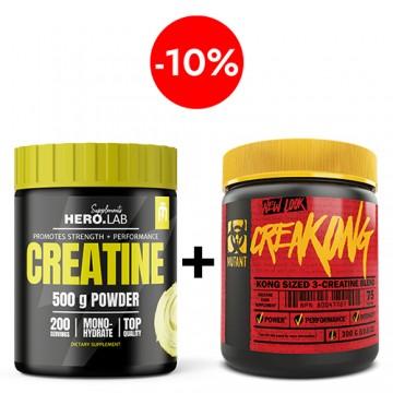 Creatine - 500g - Lemon...