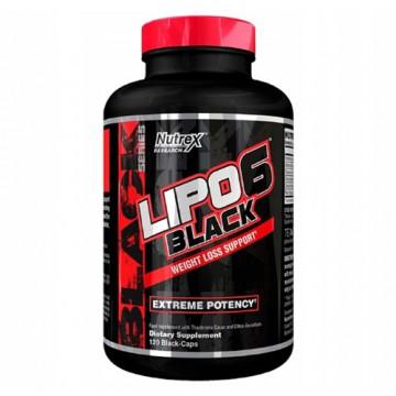 Lipo 6 Black - 120caps. EU