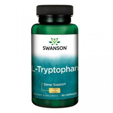 L-Tryptophan 500mg - 60caps.