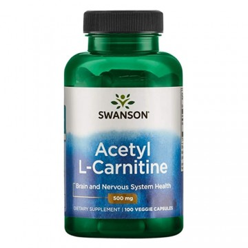 Acetyl L-Carnitine 500mg -...