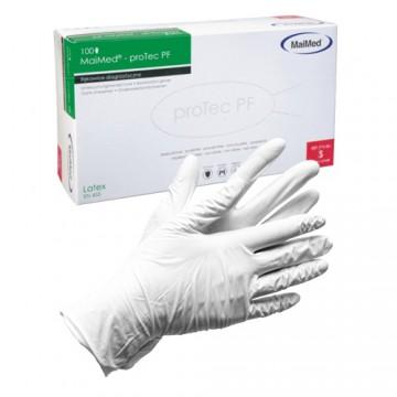 Rękawice ochronne pudrowane...