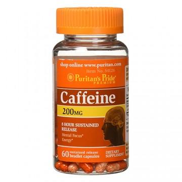 Caffeine - 200mg - 60caps.