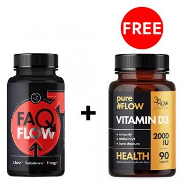 Faqflow - 60kaps. + Vitamin...