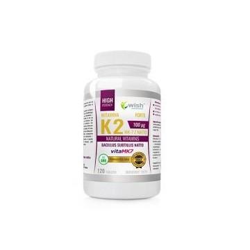 Vitamin K2 MK-7 Natto 100mcg - 120tabs