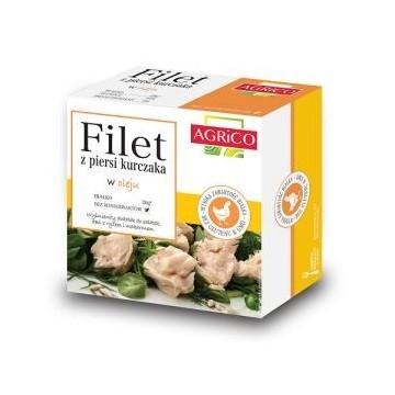 Filet z piersi kurczaka w oleju - 160g