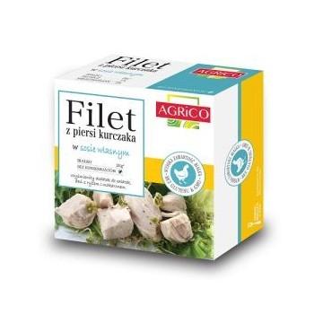 Filet z piersi kurczaka w sosie własnym - 160g