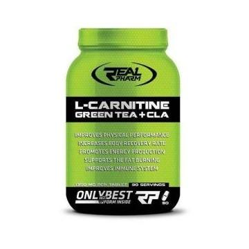 L-Carnitine Green Tea+CLA - 90caps.