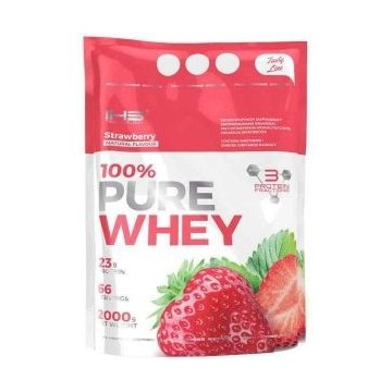 100% Pure Whey - 2000g - Strawberry 80% Protein