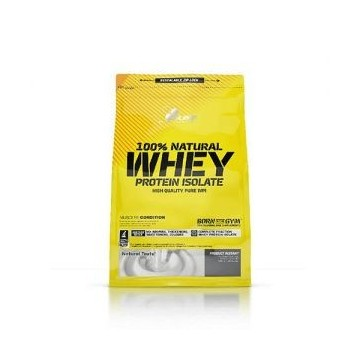 100% Natural Whey Protein Isolate - 600g
