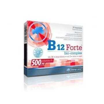B12 Forte Bio-complex - 30caps.