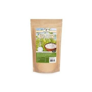 Mąka owsiana bezglutenowa pełnoziarnista - 500g