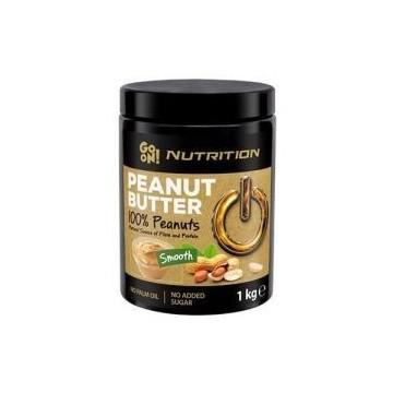 GO ON Masło Orzechowe 100% Orzechów Arachidowych - 1000g (Peanut butter 100% peanut nut)