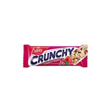 Baton Crunchy - 40g - Cranberry-Raspberry Vanilla Coat  (25 pcs per box)